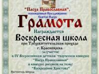 участие Воскресная школа